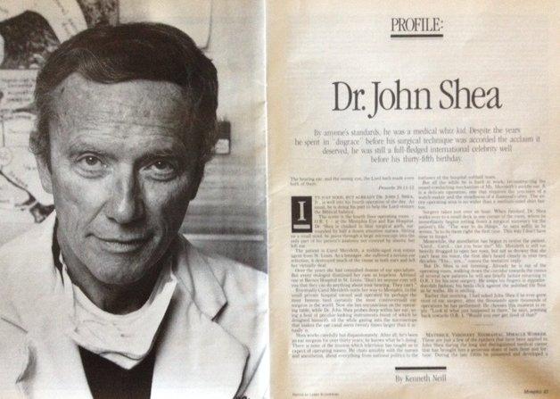 Dr. John Shea in 1980