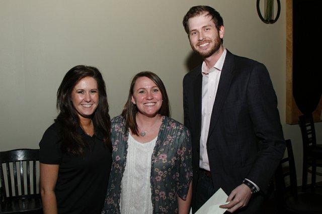 Emily Harris, Melinda Cohea, Justin Dorroh