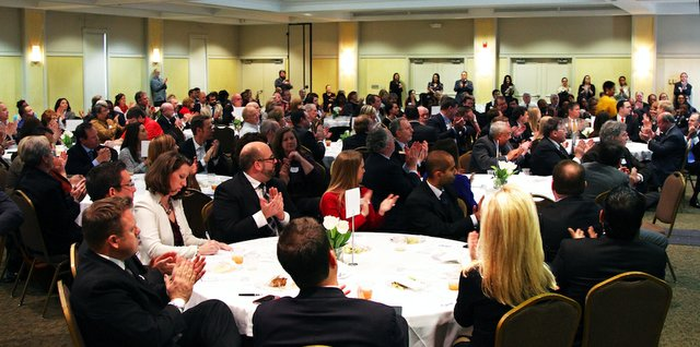 """CEO of the Year"" luncheon at Memphis Botanic Garden"