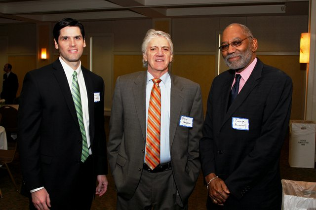 Adam Baldridge, Grady Garrison, and Judge George Brown