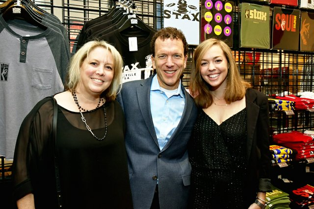 Sheril, Micah, and Cara Greenstein