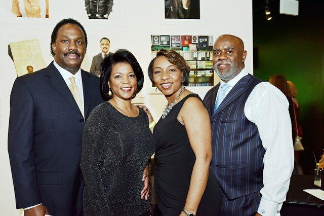 Anthony and Belinda Tate, Tausha and Sylvester Tate