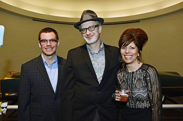 Chris Sullivan, Scott Bomar, and Lisa Sullivan