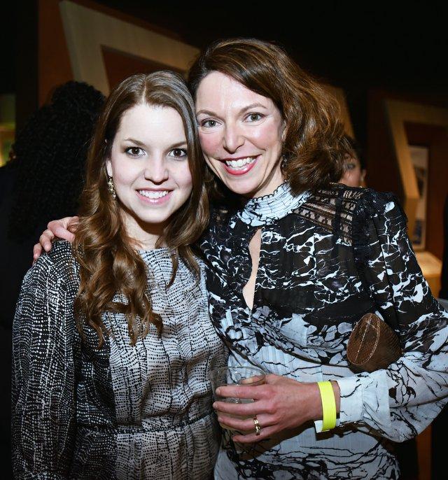 Mollie Baker and Jenny Koltnow