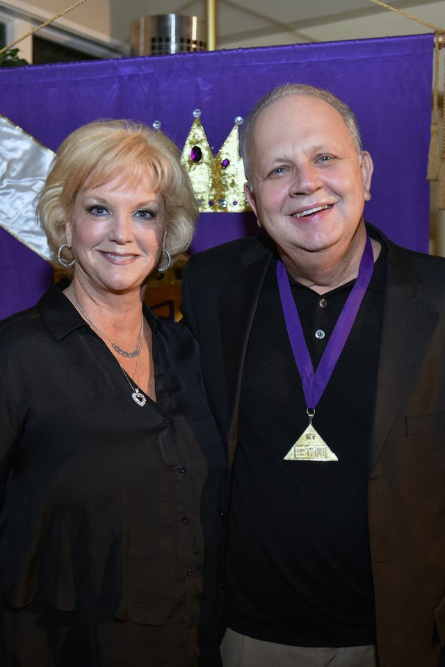 Elise Barassi and Bill Hunt