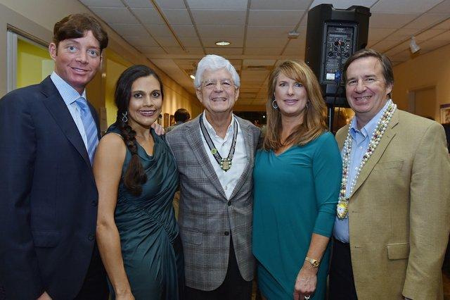 Michael Lightman Jr., Suzana Lightman, Michael Lightman, and Ellen and Bill Wells