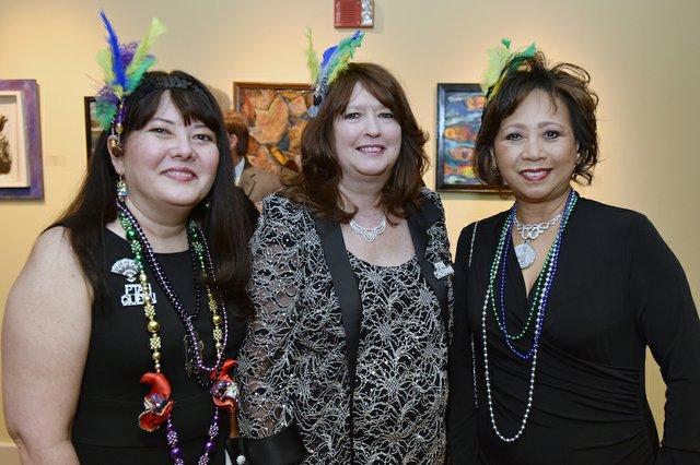Anita Howald, Sarah Trouy, and Selina Chan