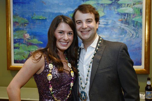 Karolina Grabowicz and Jim Calhoun