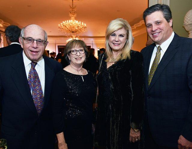 Jerrold and Martha Graber, Sally and Clay Isom