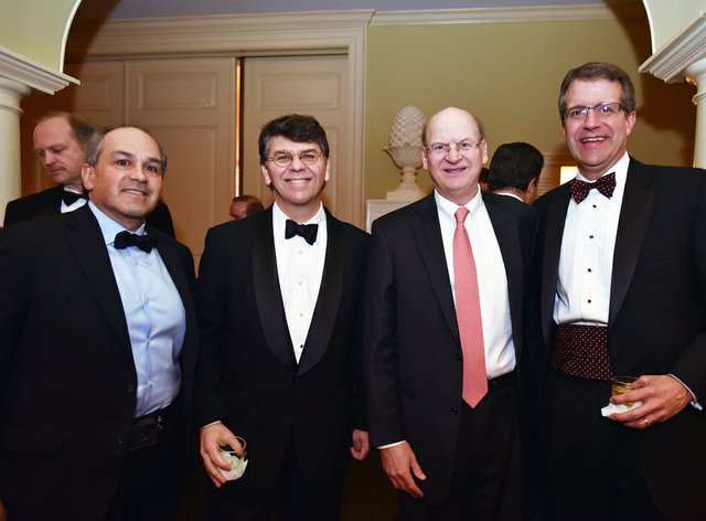 Jeffrey Goldberg, Ham Smythe IV, Ben Adams, and Tom Cowens