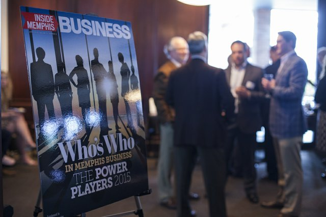 Power Players reception at Jim's Place
