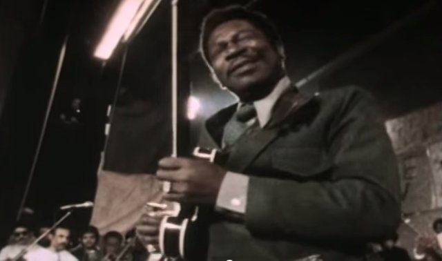 B.B. King live at Sing Sing Prison in 1972