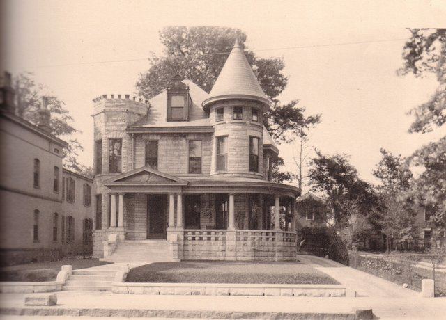 The John Mulford Residence, 664 Vance Avenue, in 1912
