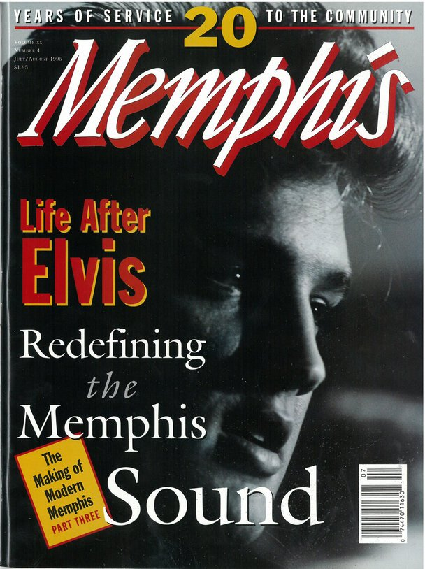 "July 1995 ""Memphis"" magazine cover"