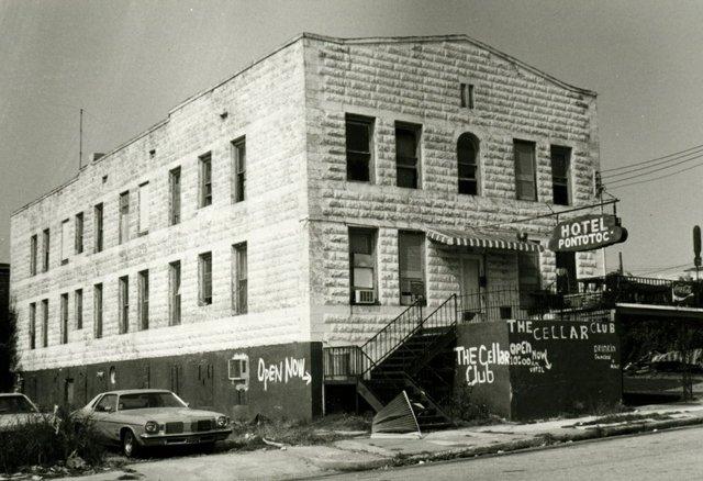 The Hotel Pontotoc circa 1979