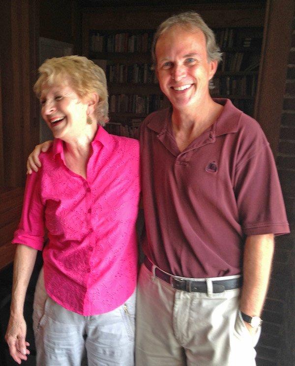 Marilyn Sadler and Frank Murtaugh