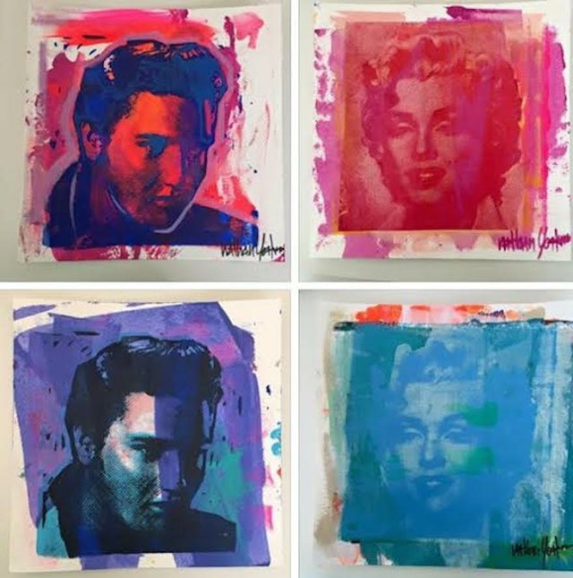 Move over, velvet Elvis. New Elvis-inspired artwork is here at local galleries as Elvis Week 2015 begins.