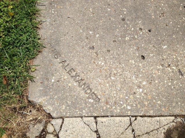 SidewalkName-Alexander-Hueys.JPG