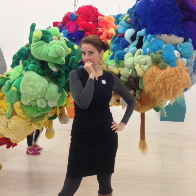 """Words Matter"" artist Sheri Bancroft"