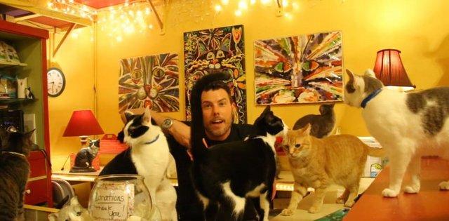 Series host, Bo Stevenson, at The House of Mews