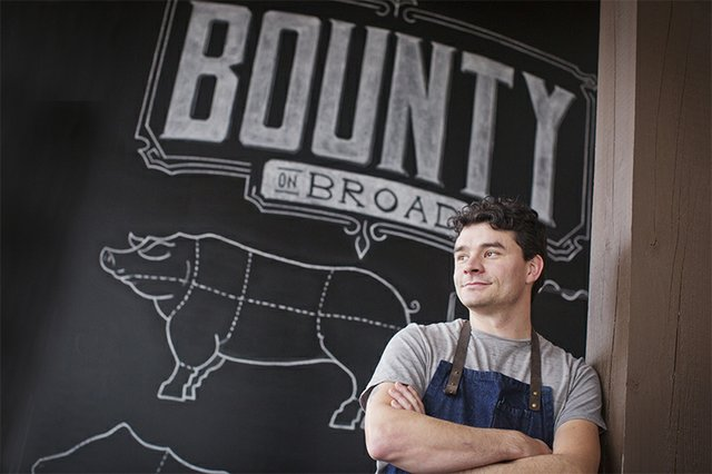 Chef/owner Jackson Kramer left Interim in East Memphis last year to open his own restaurant in Midtown's Broad Avenue Arts District. His wife, Carrie Kramer, is Bounty's general manager.