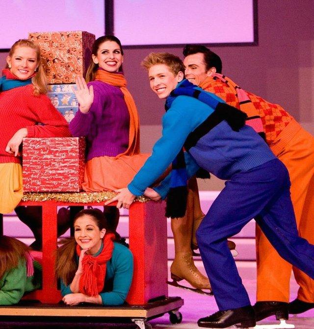 Slide into the holiday season at the performance of <em>Celebration on Ice</em> at Gold Strike Casino.